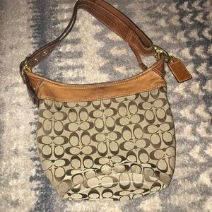 Coach Bleecker Signature Hobo Bag No F0768- 11437